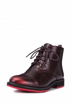 Ботинки, T.Taccardi, цвет: бордовый. Артикул: MP002XW0FI7A. Обувь