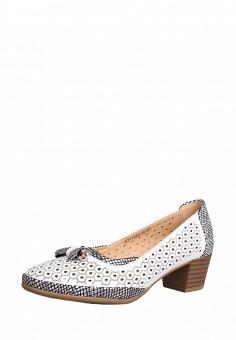 Туфли, T.Taccardi, цвет: белый. Артикул: MP002XW0FI8F. Обувь