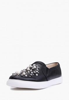 Слипоны, Pierre Cardin, цвет: черный. Артикул: MP002XW0FI9U. Обувь