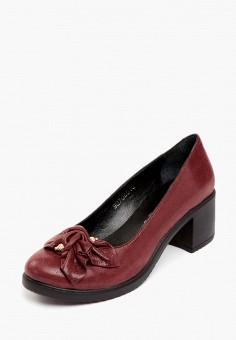 Туфли, Pierre Cardin, цвет: бордовый. Артикул: MP002XW0FIA4. Обувь