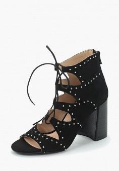 Босоножки, Tervolina, цвет: черный. Артикул: MP002XW0IXP4. Обувь / Босоножки