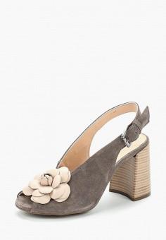 Босоножки, Tervolina, цвет: серый. Артикул: MP002XW0IXP6. Обувь / Босоножки