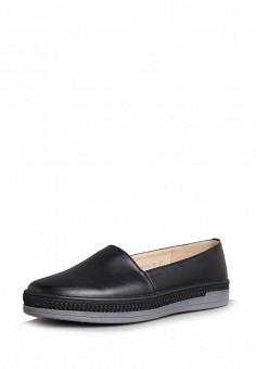 Слипоны, T.Taccardi, цвет: черный. Артикул: MP002XW0IY97. Обувь