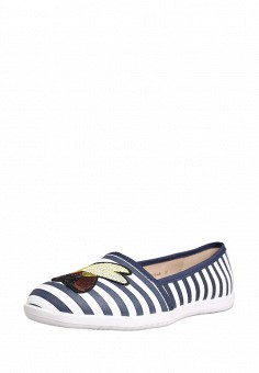 Слипоны, T.Taccardi, цвет: синий. Артикул: MP002XW0IY9C. Обувь