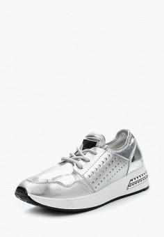 Кроссовки, Saivvila, цвет: серебряный. Артикул: MP002XW0IZ5C. Обувь / Кроссовки и кеды / Кроссовки