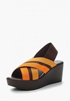 Босоножки, Tervolina, цвет: оранжевый. Артикул: MP002XW0IZNI. Обувь / Босоножки