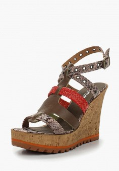 Босоножки, Tervolina, цвет: коричневый. Артикул: MP002XW0IZNN. Обувь / Босоножки