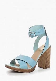 Босоножки, Tervolina, цвет: голубой. Артикул: MP002XW0IZNO. Обувь / Босоножки