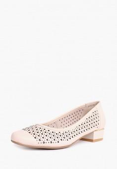 Туфли, Alessio Nesca, цвет: бежевый. Артикул: MP002XW0MQFK. Обувь / Туфли / Закрытые туфли
