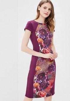 Платье, Incity, цвет: фиолетовый. Артикул: MP002XW0RUEG. Одежда / Платья и сарафаны