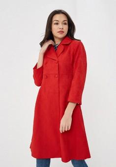 Пальто, Incity, цвет: красный. Артикул: MP002XW0RUGC. Одежда / Верхняя одежда / Пальто