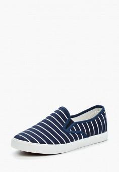 Слипоны, T.Taccardi, цвет: синий. Артикул: MP002XW0SFZ5. Обувь