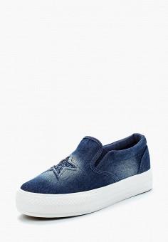 Слипоны, T.Taccardi, цвет: синий. Артикул: MP002XW0SFZN. Обувь