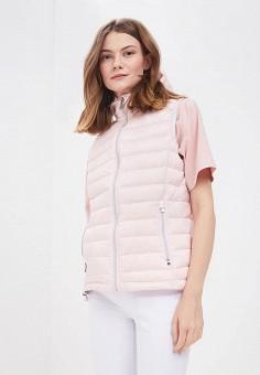 Жилет утепленный, Tenson, цвет: розовый. Артикул: MP002XW0TP3Q. Одежда / Верхняя одежда