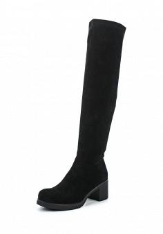 Ботфорты, Provocante, цвет: черный. Артикул: MP002XW0TZYO. Обувь / Сапоги