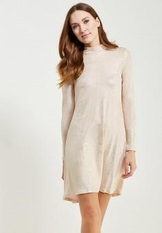 Платье, Ruxara, цвет: золотой. Артикул: MP002XW0ZZJU. Одежда