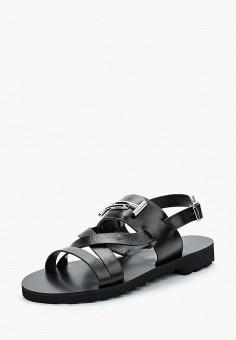 Сандалии, Vitacci, цвет: черный. Артикул: MP002XW13HA6. Обувь / Сандалии