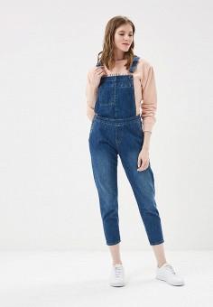 Комбинезон джинсовый, F5, цвет: синий. Артикул: MP002XW13I0S. Одежда