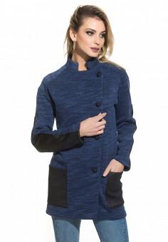Пальто, Gloss, цвет: синий. Артикул: MP002XW13KFQ. Одежда