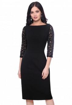 Платье, Grey Cat, цвет: черный. Артикул: MP002XW13KXW. Одежда