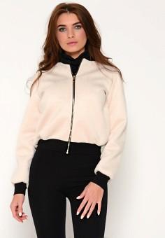 Куртка, Irma Dressy, цвет: бежевый. Артикул: MP002XW13Q5X. Одежда / Верхняя одежда / Легкие куртки и ветровки