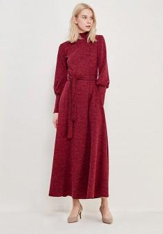 Платье, Alina Assi, цвет: бордовый. Артикул: MP002XW13QF2. Одежда / Платья и сарафаны