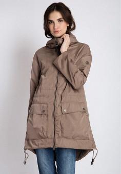 Куртка, Finn Flare, цвет: коричневый. Артикул: MP002XW13SQP. Одежда / Верхняя одежда / Легкие куртки и ветровки
