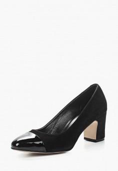 Туфли, Hestrend, цвет: черный. Артикул: MP002XW13U62. Обувь / Туфли / Закрытые туфли