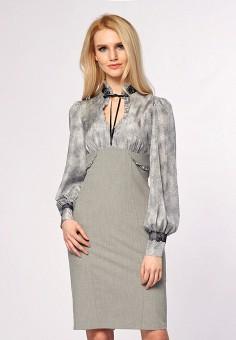 Платье, Ано, цвет: серый. Артикул: MP002XW13UEU. Одежда / Платья и сарафаны