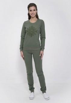 Костюм спортивный, Cleo, цвет: зеленый. Артикул: MP002XW13VTS. Одежда