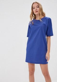 Платье, Alix Story, цвет: синий. Артикул: MP002XW13VUB. Одежда / Платья и сарафаны