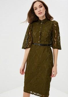 Платье, Alina Assi, цвет: хаки. Артикул: MP002XW13WBW. Одежда / Платья и сарафаны