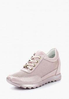 Кеды на танкетке, Tervolina, цвет: розовый. Артикул: MP002XW13XXD. Обувь / Кроссовки и кеды / Кеды