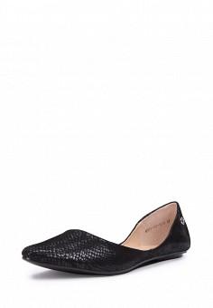 Балетки, T.Taccardi, цвет: черный. Артикул: MP002XW13ZKY. Обувь