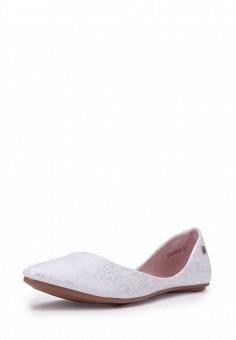 Балетки, T.Taccardi, цвет: белый. Артикул: MP002XW13ZL5. Обувь