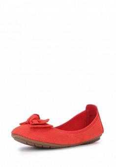 Балетки, T.Taccardi, цвет: красный. Артикул: MP002XW13ZLU. Обувь