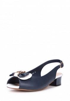 Босоножки, T.Taccardi, цвет: синий. Артикул: MP002XW13ZNY. Обувь / Босоножки