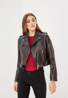 Куртка кожаная, Bos Bison, цвет: коричневый. Артикул: MP002XW13ZVH.