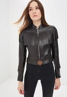 Куртка кожаная, Bos Bison, цвет: коричневый. Артикул: MP002XW13ZVJ.
