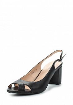 Босоножки, T.Taccardi, цвет: черный. Артикул: MP002XW13ZWP. Обувь / Босоножки