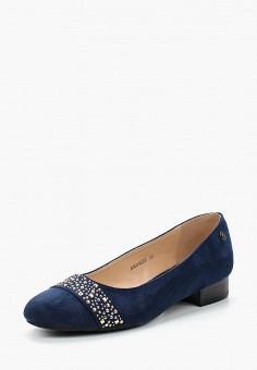 Туфли, T.Taccardi, цвет: синий. Артикул: MP002XW13ZYP. Обувь / Туфли / Закрытые туфли