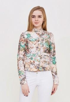 Жакет DSHE, цвет разноцветный, размер 44