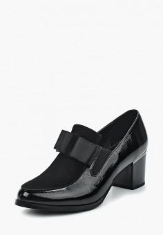 Туфли, Tervolina, цвет: черный. Артикул: MP002XW1417I. Обувь / Туфли / Закрытые туфли
