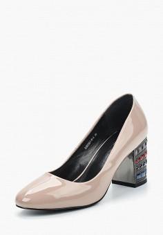 Туфли, Tervolina, цвет: бежевый. Артикул: MP002XW141H1. Обувь / Туфли / Закрытые туфли