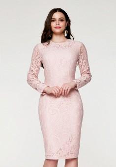 Платье, SoloU, цвет: бежевый. Артикул: MP002XW141OP. Одежда / Платья и сарафаны