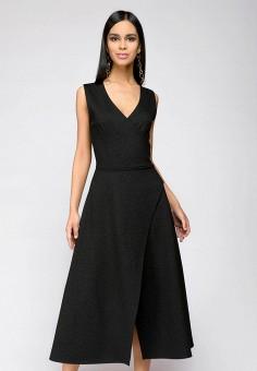 Платье, 1001dress, цвет: черный. Артикул: MP002XW141Q3. Одежда / Платья и сарафаны