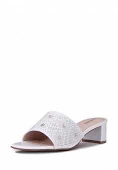 Сабо, T.Taccardi, цвет: белый. Артикул: MP002XW15FQU. Обувь