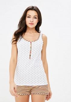 Пижама, Deseo, цвет: белый, желтый. Артикул: MP002XW15FXQ. Одежда