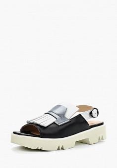 Сандалии, Tervolina, цвет: черный. Артикул: MP002XW15G99. Обувь / Сандалии