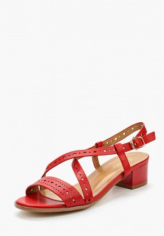 Босоножки, Saivvila, цвет: красный. Артикул: MP002XW15GNU. Обувь / Босоножки